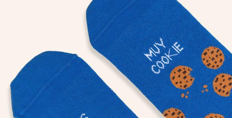 "Calcetines ""Eres muy cookie"""