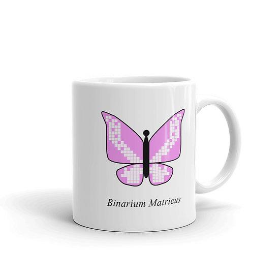 Datavizbutterfly - Binarium Matricus - Mug