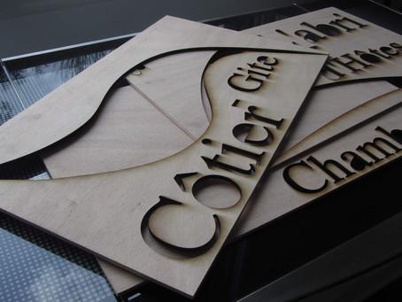 Le procédé de découpe et gravure laser