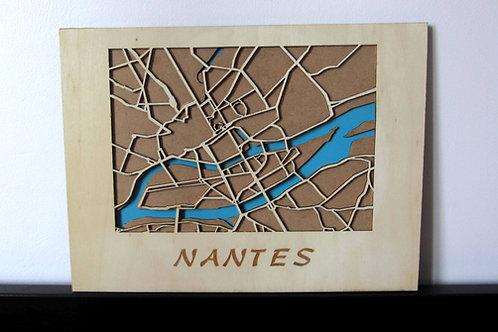 Carte Nantes