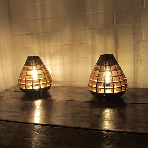 Duo de lampes de chevet Gamini