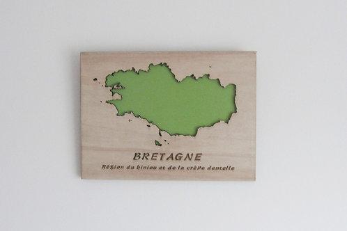Carte Bretagne