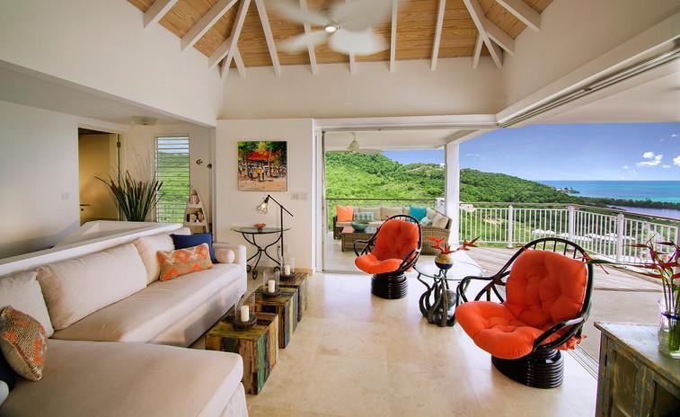 Sugar Ridge Balcony with view