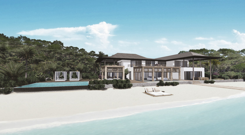 Digital Render of Pearns Point Beach Villa