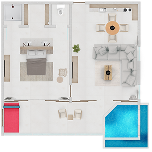 One Bedroom Penthouse Suite.png