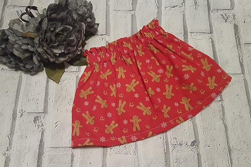Red gingerbread skirt