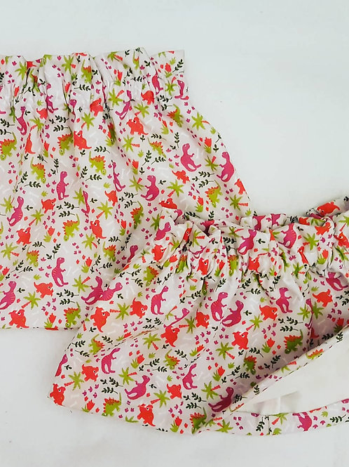 Dinosaur pattern skirt