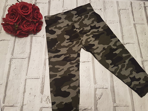 Army print leggings
