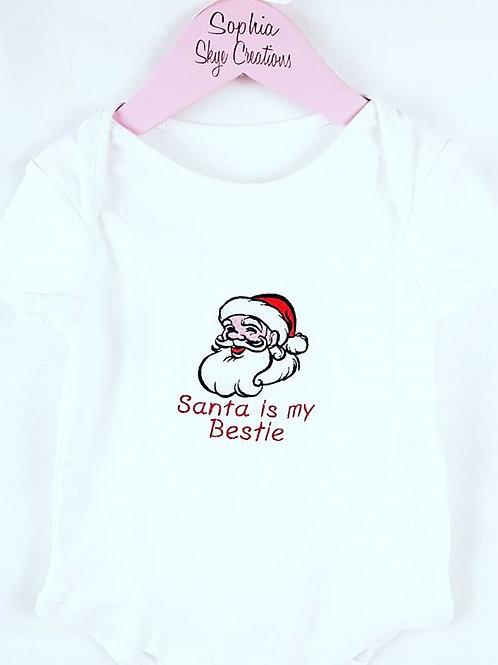 Santa is my bestie