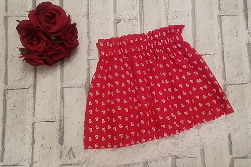 Red bows skirt