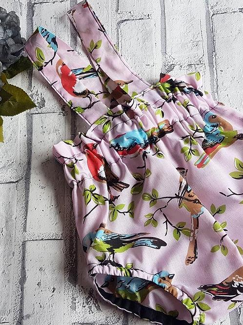 Pink Bird Braced Bloomer