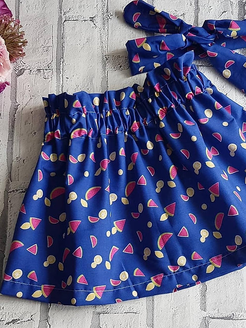 Watermelon Print Skirt