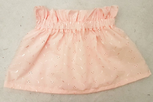 Pink broiderie Skirt