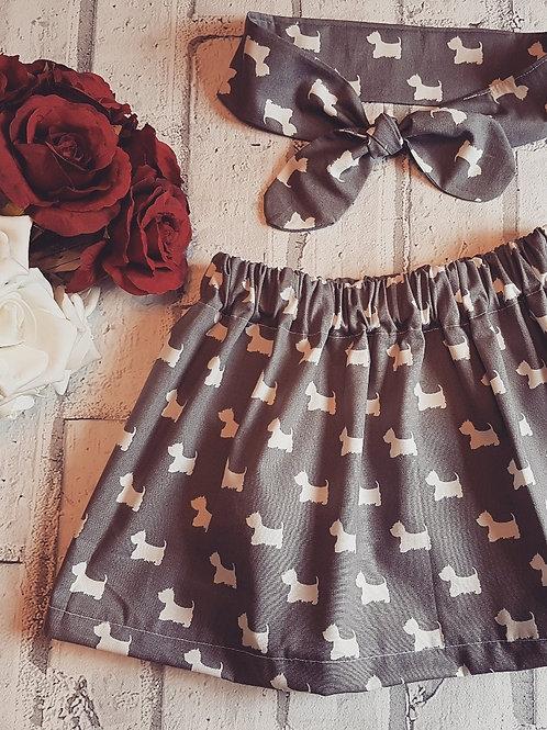 Doggy Fabric skirt