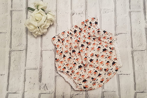 Fox pattern bloomer