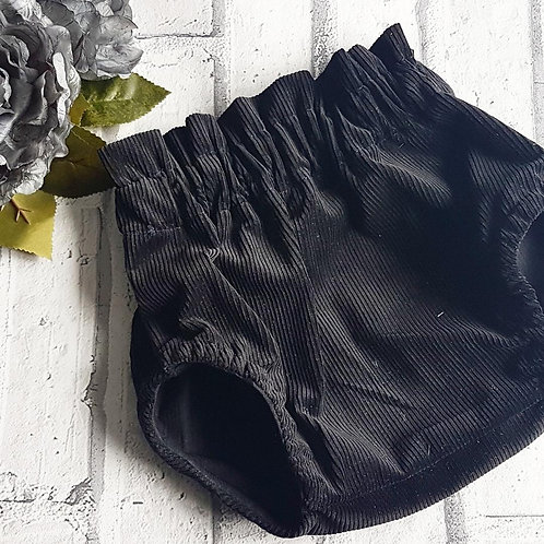 Black Cord Bloomers