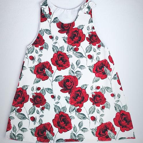 Red Rose Dress