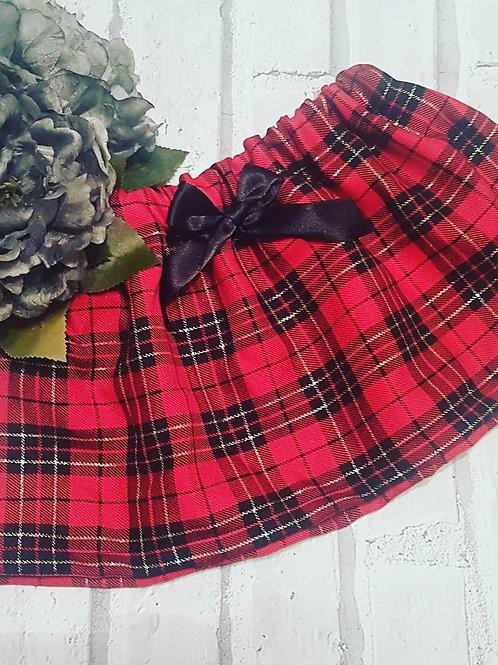 Christmas tartan standard skirt