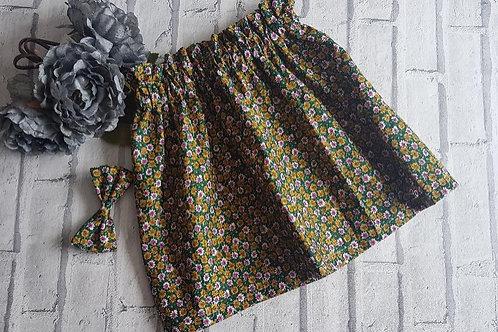 Daisy Green Skirt