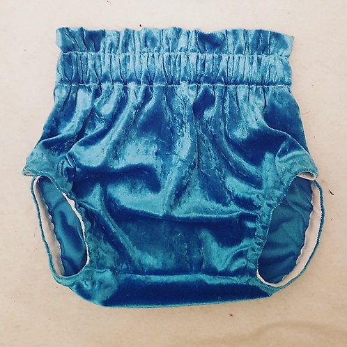 Blue Velvet Bloomers