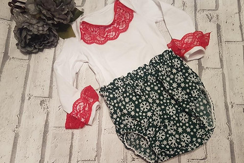 Snowflake and vest top set
