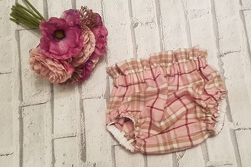 Tartan pattern bloomers