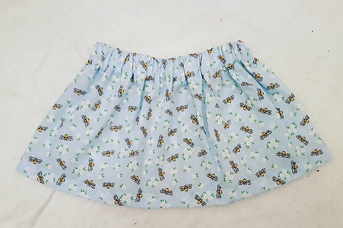 Blue Bees Skirt