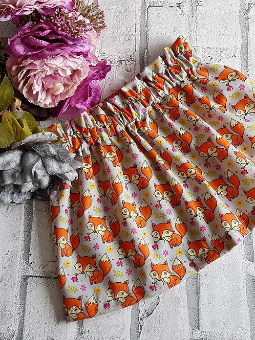 Foxy Print Skirt