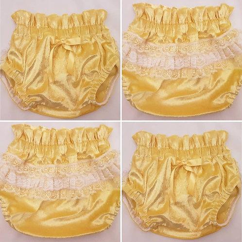 Yellow Sophia Bloomers