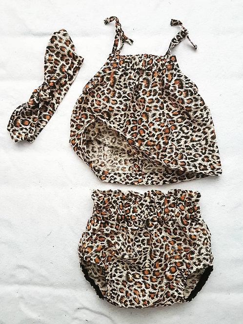 Leopard print set