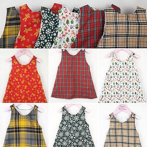 Bel Vestito Dress - state fabric when ordering