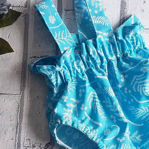 blue leaf braced bloomers