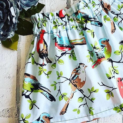 Blue Bird Skirt