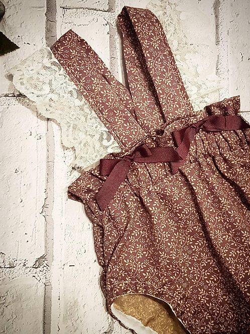 Vintage Laced Braced Bloomers
