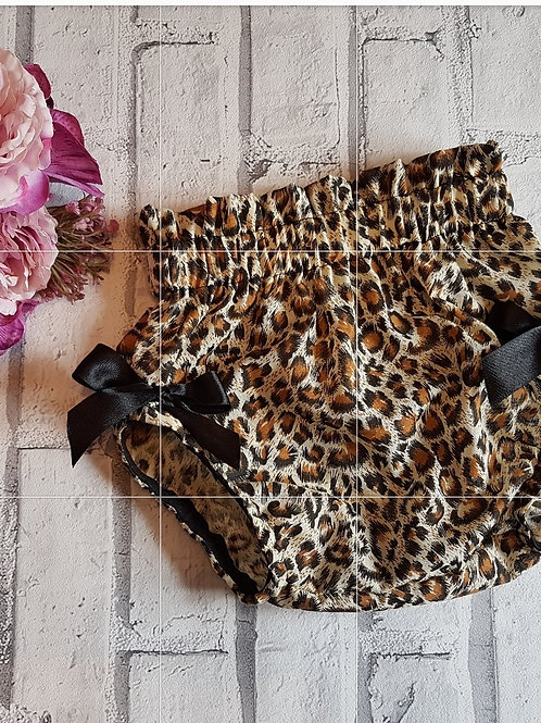 Cotton Leopard bloomers