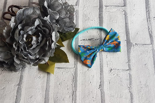 Dinosaur Clip or headband bow to match any outfit