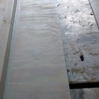 Primed and sealed, back of side panel