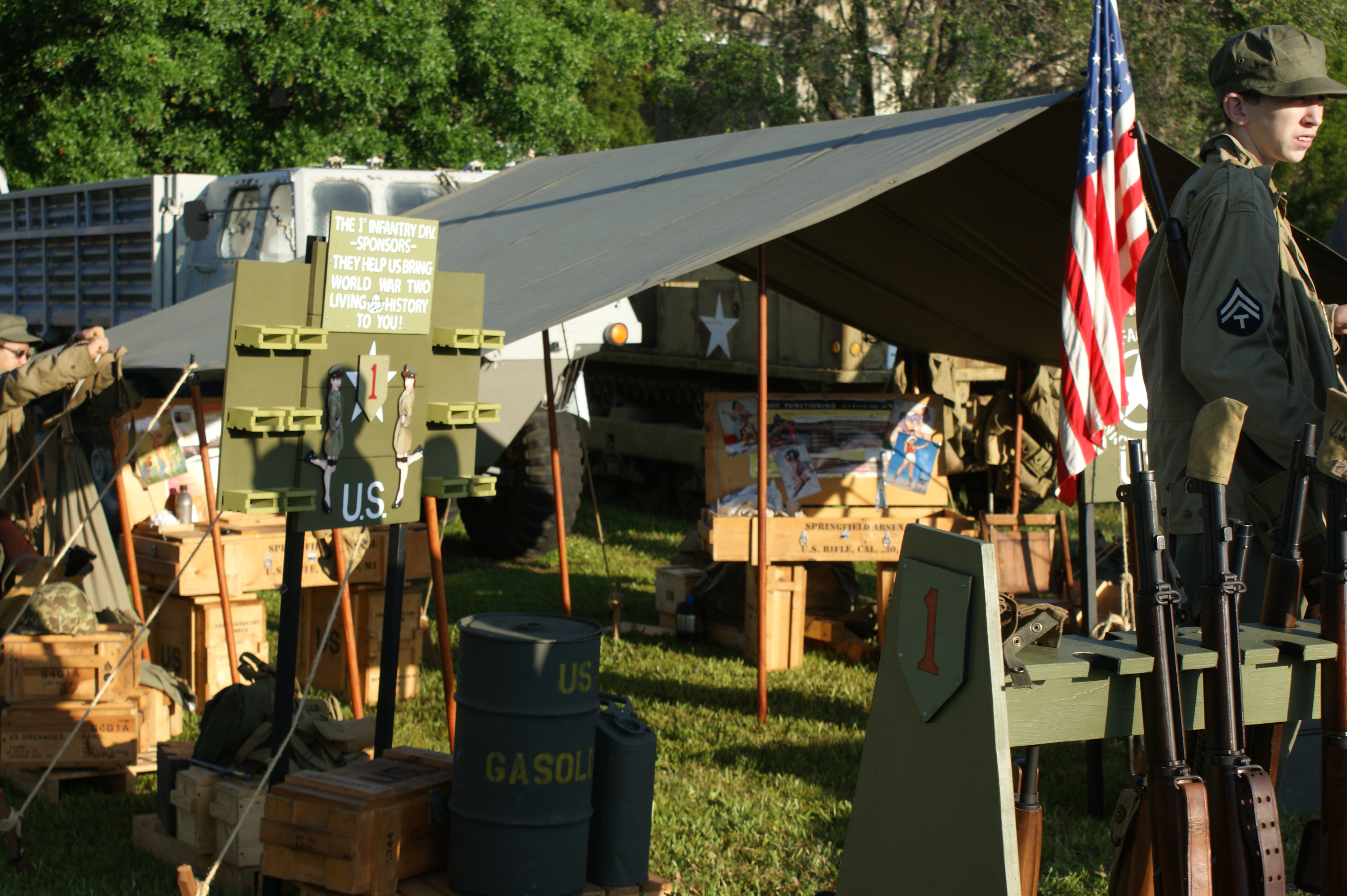 1st Infantry Division Reenactment
