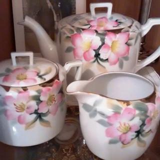 Noritake Azalea Tea Set