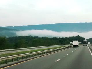 Drive through West Virginia