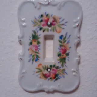 Porclain Switchplate