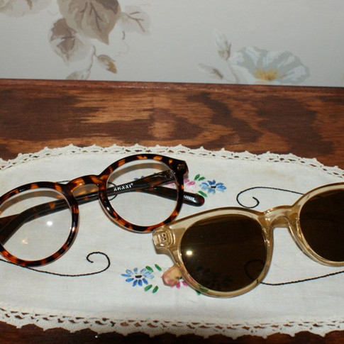 1940s reproduction eyeglasses and sunglasses