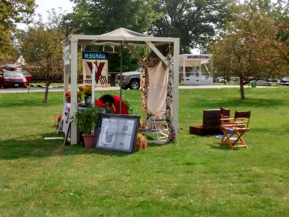 Victory Garden Booth