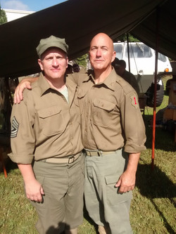 Sergeant and His Captain