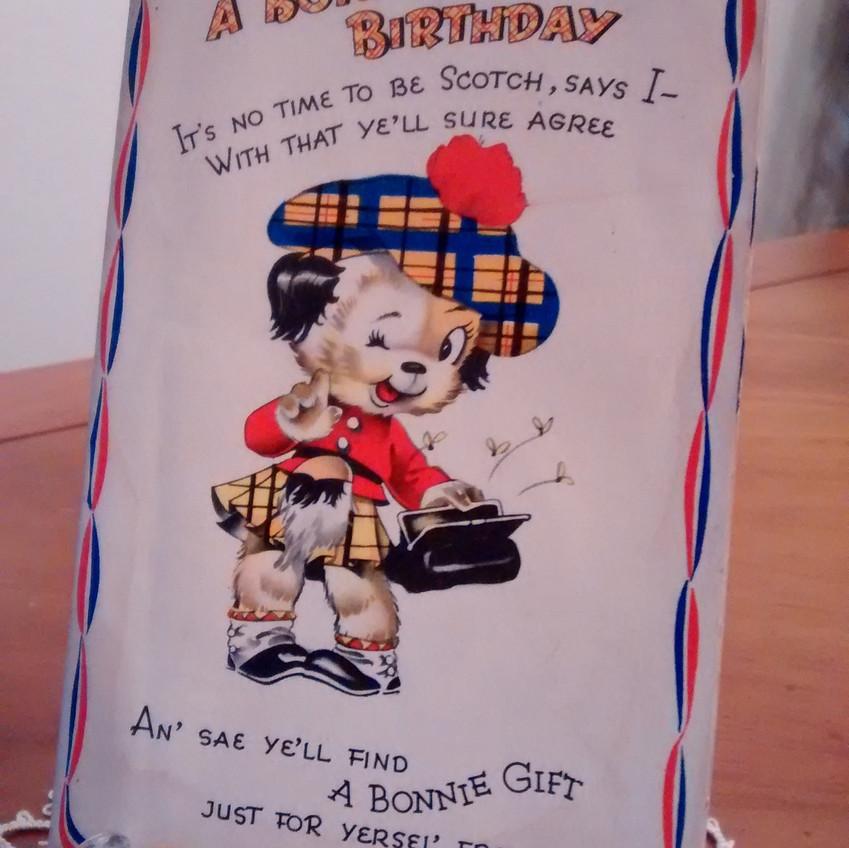 War Savings Bond Birthday Card