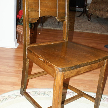 1920/30s Kitchen wood chair