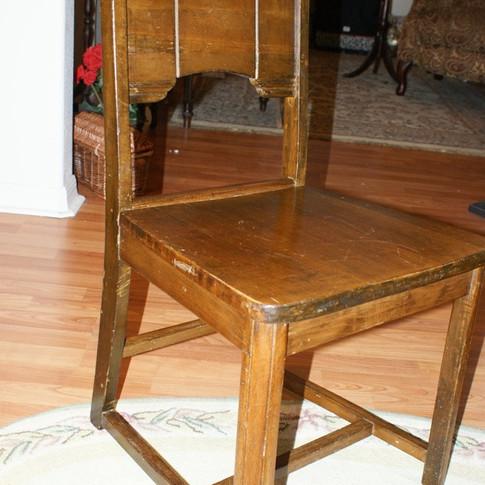 1920/30s Kitchen wood chair