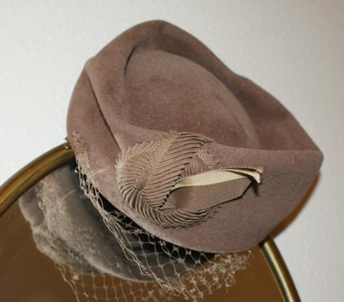 Stylish Felt Pillbox Hat