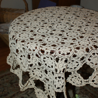 Hand Crochet Tablecloth
