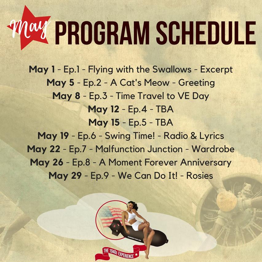 PfhHF Schedule